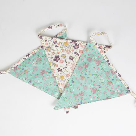 Floral Summerfield Bunting